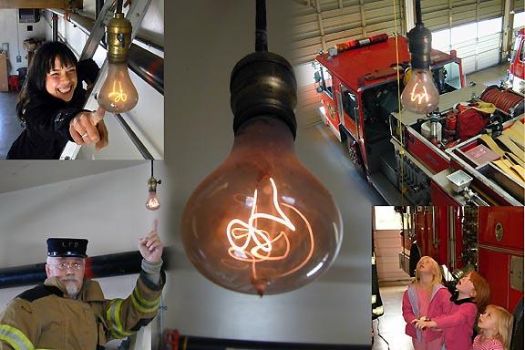 Leuchtet seit 1901, die Centennial Bulb.