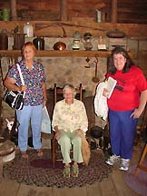 Sally with Sue Bunn & sister Mary