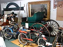 Bikes and carriage